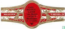 Café Beten-land Rue Henri Caron 6 Hoeilaart T. 570681 - Maldegem - R. Janssens & Zn