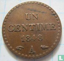 France 1 centime 1848