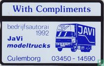 JaVi Modeltrucks - Bedrijfsautorai 1992