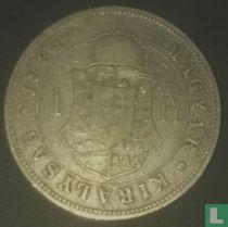 Hongarije 1 forint 1884