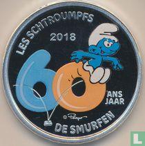 "Belgium 5 euro 2018 (PROOF) ""60th anniversary of the Smurfen"