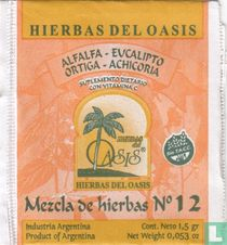 Alfalfa - Eucalipto - Ortiga - Achicoria