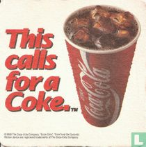 This calls for a Coke.