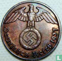 Duitse Rijk 2 reichspfennig 1937 (E)