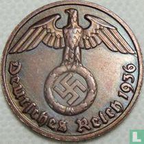 Duitse Rijk 2 reichspfennig 1936 (hakenkruis - F)