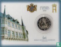 "Luxembourg 2 euro 2018 (coincard - Sint Servaasbrug) ""175th anniversary Death of Grand Duke William I"""