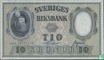 Schweden 10 Kronen 1960