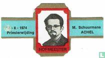 25-8-1974 Priesterinwijding - M. Schuurmans Achel