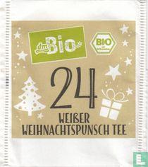 24 Weißer Weihnachtspunsch Tee