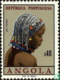 Frau aus Angola