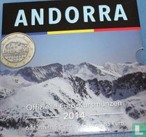 Andorra mint set 2014