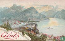 Ansicht von Lugano