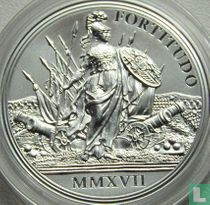 "Austria 20 euro 2017 (PROOF) ""300th anniversary of the birth of Empress Maria Theresa - Courage and determination"""