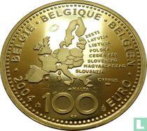 "België 100 euro 2004 (PROOF) ""EU enlargement"""