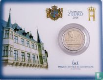 """Luxembourg 2 euro 2018 (coincard) """"150 years of the Luxembourg Constitution"""""""