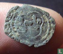 France  denier tournois  (Louis XI)  1461-1483