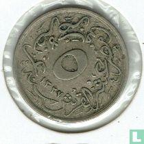 Ägypten 5/10 Qirsh 1912 (Jahr 1327-4)