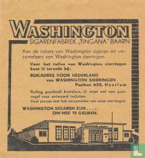 Washington sigarenfabriek ,tingana' baarn