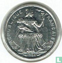Frans-Polynesië 1 franc 1984