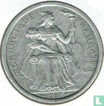 Frans-Polynesië 2 francs 1987