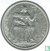 Frans-Polynesië 5 francs 1984