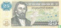 Slovakia 25 korun 2018