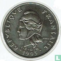 Frans-Polynesië 20 francs 1995