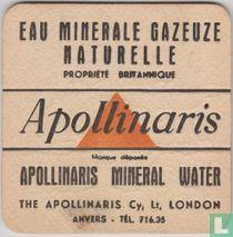 Eau Minerale Gazeuze Naturelle Propriété britannique - Anvers