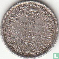 Brits-Indië ¼ rupee 1939 (Bombay)