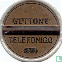 Gettone Telefonico 6809 (geen muntteken)
