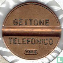 Gettone Telefonico 6806 (geen muntteken)