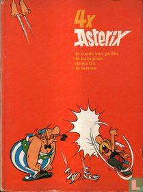 4 x Asterix - De Ronde van Gallia + De kampioen + Cleopatra + De Britten
