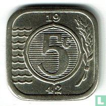 Nederland 5 cent 1942 (naslag)