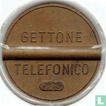 Gettone Telefonico 7105 (geen muntteken)