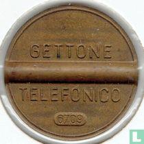 Gettone Telefonico 6709 (geen muntteken)