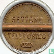 Gettone Telefonico 6810 (geen muntteken)