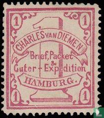 Brief, Pakket & goederenexpeditie Charles van Diemen