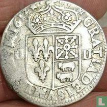 France ¼ ecu 1612 (BD)