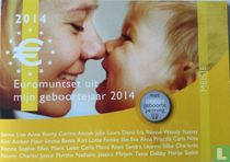 "Netherlands mint set 2014 ""Baby set girl"""