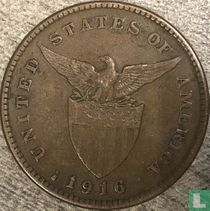 Filipijnen 1 centavo 1916