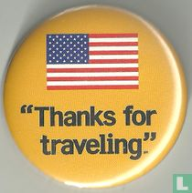 """Thanks for traveling."""