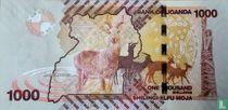 Oeganda 1.000 Shillings 2014