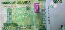 Oeganda 5.000 Shillings 2017