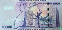 Oeganda 10.000 Shillings 2015
