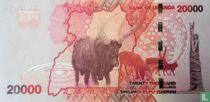 Oeganda 20.000 Shillings 2013