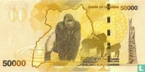 Oeganda 50.000 Shillings 2013