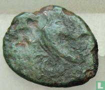Akragas, Sicile  AE17, Uncia (1/12 As)  400-200 BCE