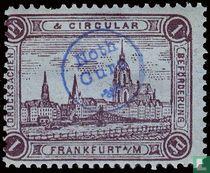 Stadt Frankfurt (mit Druck Curs Noth)