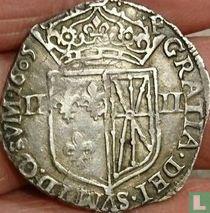 France ¼ ecu 1605