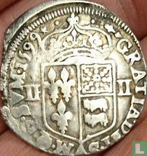 France ¼ ecu 1599 (BD)